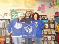JeanMarie Romanella '05, Carrie Semeniak '00 and Nicole Moran '96