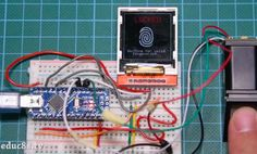 Arduino Blog – Add biometric security to your next Arduino project