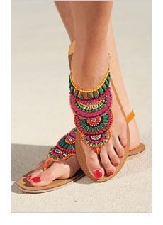 Cute summer sandals by samantha.