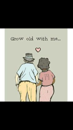 The most romantic thing I can imagine is growing old with you. Interracial Art, Interracial Family, Interracial Marriage, Black Woman White Man, Black Love, Black Girls, Black Child, White Boys, Mixed Couples