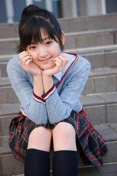 Cute little Airi Suzuki :)