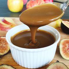 Spiced Coconut Milk Dulce de Leche ( Vegan Caramel Sauce) | The Feel Good Kitchen