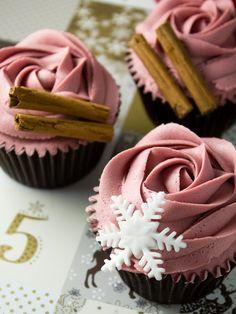 Objetivo: Cupcake Perfecto.: Glühwein Cupcakes... ¡¡porque toda excusa es buena si se trata de beber Glühwein!!