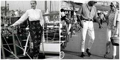 LUXURIA BLOG: RIVIERA-CHIC? HOW DO I GET IT?  - Left Image: Grace Kelly (1950's) - #France #FrenchRiviera http://luxuria-jewellery.blogspot.co.uk/2015/07/riviera-chic-how-do-i-get-it.html