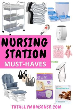 Must-Haves To Set Up A Breastfeeding Station Expecting Twins, Breastfeeding And Pumping, Pregnancy Care, Pregnancy Timeline, Pregnancy Belly, Nurses Station, Pumping At Work, Every Mom Needs, Twin Babies
