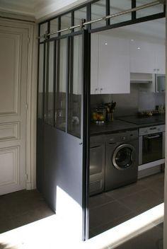 demi verri re sur all ge ma onn e pour banc avec vitrage opaque verri res pinterest. Black Bedroom Furniture Sets. Home Design Ideas
