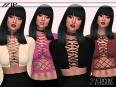 MP Bandage Top by MartyPDOWNLOAD DIRECTLY HERE DOWNLOAD AT TSR RESOURCE