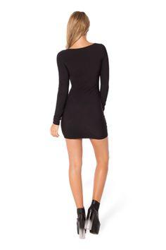 Warm Red Long Sleeve Dress - Black Milk Clothing
