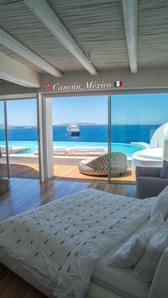 Dream Beach Houses, Luxury Homes Dream Houses, Luxury Life, Vacation Places, Dream Vacations, Cavo Tagoo Mykonos, Mykonos Villas, Beautiful Places To Travel, Romantic Travel