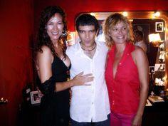 Con Antonio Banderas y Mabel Lozano en Broadway
