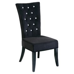 All Home Velvet Dining Chair