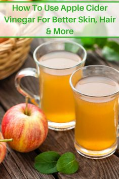 Apple cider vinegar is popular for its health benefits. But if you aren't using this powerful, all-natural tonic on your skin and hair, you are missing out! Here's how you can take advantage of all it has to offer.