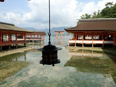 Itsuku-shima Shrine in Miyajima, HIROSHIMA