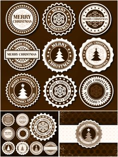 Free Christmas labels. Tags. Rustic Christmas. Free printable labels