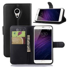 Meizu MX5 Case Leather Flip Back Cover For Meizu MX5 With Stand And Wallet #Affiliate