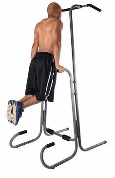 Stamina 1690 Power Tower home gym pull up bar # Full Body Training, Body Weight Training, Strength Training, Floor Workouts, Gym Workouts, At Home Workouts, Power Tower Workout, Bar Workout, Weight Benches