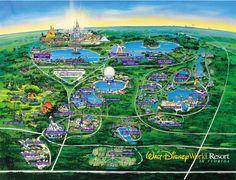 Disney World Map - orlando • mappery