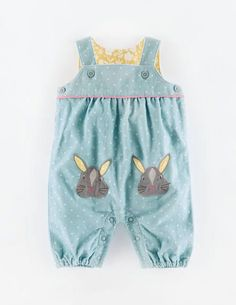 Baby Boden bunny dungarees