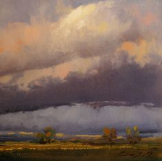 After the Storm | From a unique collection of landscape paintings at https://www.1stdibs.com/art/paintings/landscape-paintings/