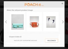 Poach It....  Online shopping