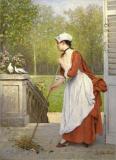 French painter Joseph Caraud (one thousand eight hundred and twenty-one - 1 905), one of the best portrait painters and engravers of the 19th century. Even before he started his art education at the School of Fine Arts, he made his debut at the Paris Salon in 1843. From 1843 to 1846, he presented a few more portraits to earn money for a trip to Ital..