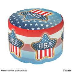 American Star Round Pouf   2 DAYS ONLY: Save 29% on everything!     USE CODE: LEAP2DAYONLY at checkout before February 29, 2016 11:59 PM PT.