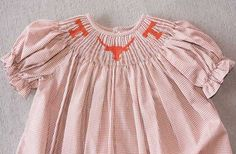 Texas Longhorn Smocked Dress