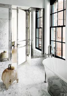 powder room elle decor stephen gambrel - Google Search