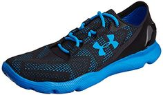 Under Armour UA SPEEDFORM APOLLO VENT, Herren Laufschuhe, Blau (Black/Blue Jet/Blue Jet 005), 44.5 EU - http://on-line-kaufen.de/under-armour/44-5-eu-under-armour-speedform-apollo-vent-herren