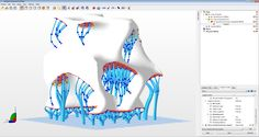 netfabb Enhanced Support Structures add-on for netfabb 6: Bar Support