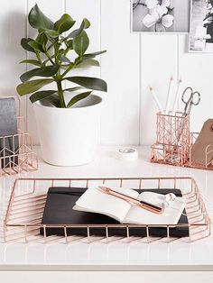 Buy John Lewis Rose Gold Desk Tidy from our Desk Storage & Desk Accessories range at John Lewis & Partners. Rose Gold Rooms, Rose Gold Decor, Rose Gold Interior, Diy Computer Desk, Desk Tidy, Diy Desk, Home Office Desks, Office Decor, Office Inspo