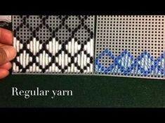 How to make plastic canvas coasters: Diamond Stitch - YouTube