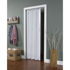 Spectrum Encore White Folding Door (White), Size 36x80