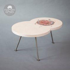 Coffe table ceramic decor