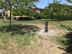 Modena: una fontana al parchetto Giallo di Villanova