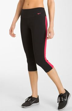 Nike Tight Fit Cotton Capris | Nordstrom
