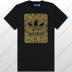 adidas Originals Mens Credit Card Trefoil T-Shirt at QV casuals. Save on a  huge range of big brand tees. c6a113ab51dcb