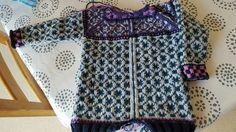 Wiola Fair Isle Knitting Patterns, Crochet Projects, Knit Crochet, Blouse, Jackets, Color, Tops, Women, Fashion