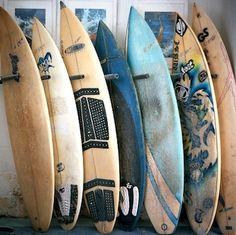Surfboards. Hang ten with Mellow Militia and play Tiki Toss! Playtikitoss.com