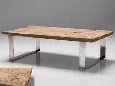 Mobital Provence Coffee Table Casual Living Room | WCO-PROV-WOOD-STEEL