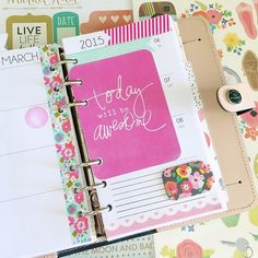 From @thisorganizedlife - Week 10 consists of bits that remind me of the kindness & generosity that I've encountered in this planner community  Shoutout to Ashley for the cute weekly inserts, Clara for the washi samples & magnetic floral bookmark, and Jonna for the PL card ☺️ #thankful