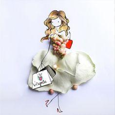 Virgola by Virginia Di Giorgio What's your attitude? Stylish, sexy, super romantic or fabulous like Carrie Bradshaw?  #sexandthecity #virginiasdraws