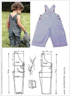 ideas sewing baby patterns projects for 2019 Baby Dress Patterns, Baby Clothes Patterns, Sewing Patterns For Kids, Sewing For Kids, Clothing Patterns, Doll Patterns, Toddler Outfits, Baby Boy Outfits, Kids Outfits