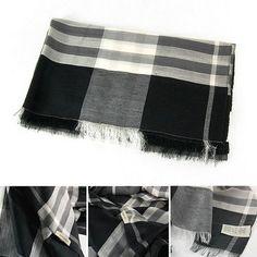 Schal Seide Wolle Model0003