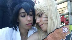 Sasuke Uchiha and Naruko Uzumaki  Agliana Moonlight Cosplay