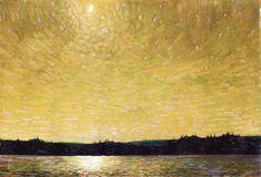 The Athenaeum - Moonlight Sail (Tom Thomson - )