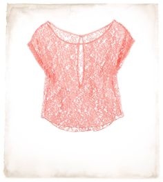 Lace T. WANT WANT WANT. NEED NEED NEED!!! .... But not sure if I want white or pink....