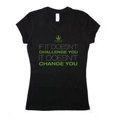 Herbalife Juniors 'Challenge' Black Vneck T #dsaccess #herbalife #apparel…