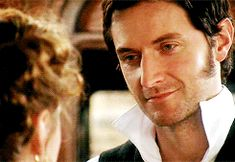 (gif) Heart melting moments in BBC's 'North and South' with Richard Armitage as John Thornton.