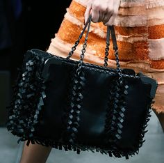 Fashion Week Handbags: Bottega Veneta Spring 2013